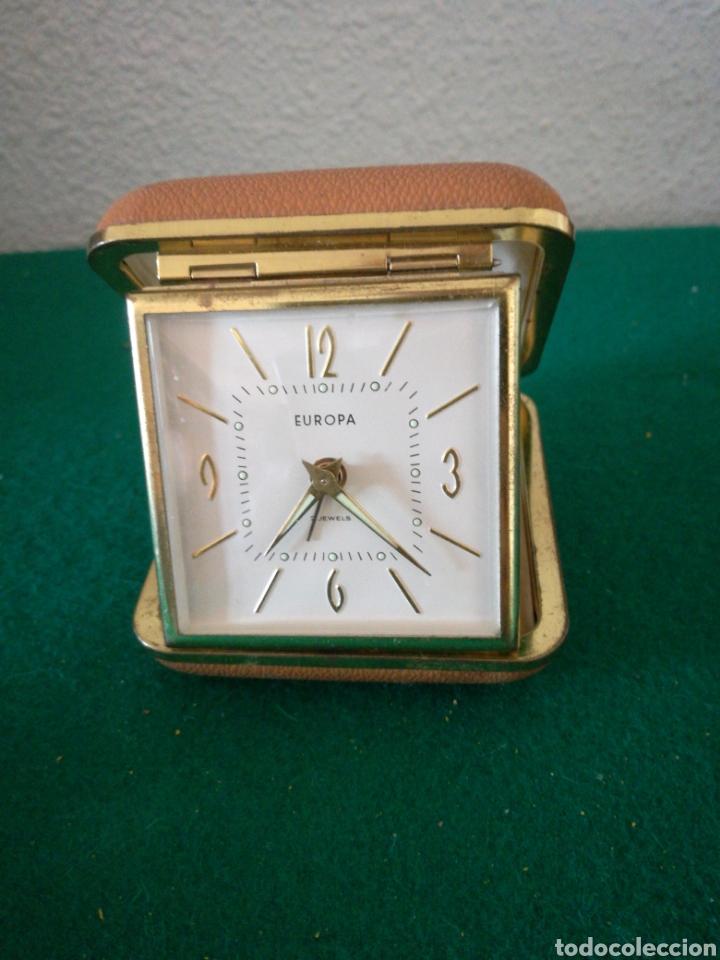 RELOJ DE VIAJE MARCA EUROPA (Relojes - Relojes Despertadores)