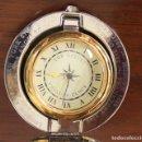 Despertadores antiguos: THE DALVEY VOYAGER CLOCK. RELOJ DE VIAJE DESPERTADOR. NECESITA CAMBIO DE PILA. Lote 154782316