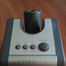Despertadores antiguos: DESPERTADOR CON VOZ - ABBOTT NUTRITION. Lote 154793390