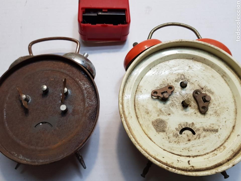 Despertadores antiguos: Relojes despertadores Bradley y otros lote 3 - Foto 5 - 155288374