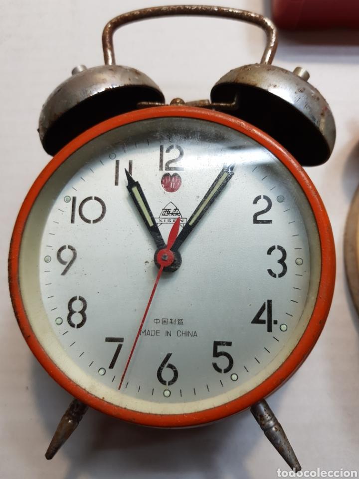Despertadores antiguos: Relojes despertadores Bradley y otros lote 3 - Foto 3 - 155288374