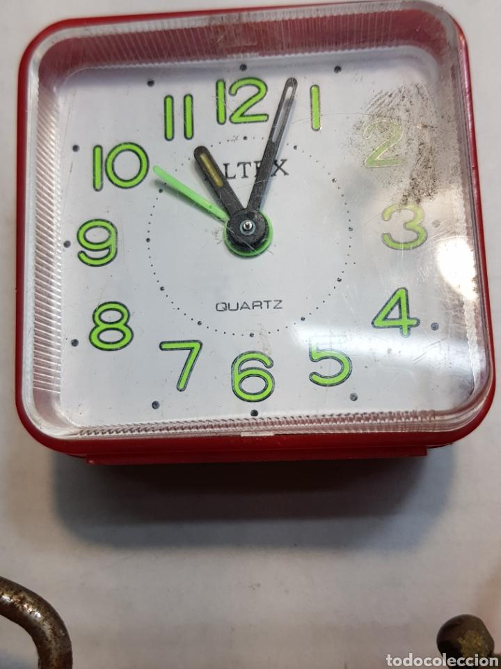 Despertadores antiguos: Relojes despertadores Bradley y otros lote 3 - Foto 4 - 155288374