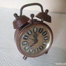 Despertadores antiguos: RELOJ DESPERTADOR. PIQUE. NO FUNCIONA. Lote 155697646