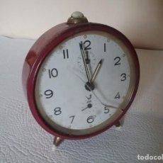 Despertadores antiguos: RELOJ DESPERTADOR. JAZ. NO FUNCIONA. Lote 155698110