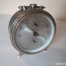 Despertadores antiguos: RELOJ DESPERTADOR. KIENZLE. FUNCIONA. Lote 155698242