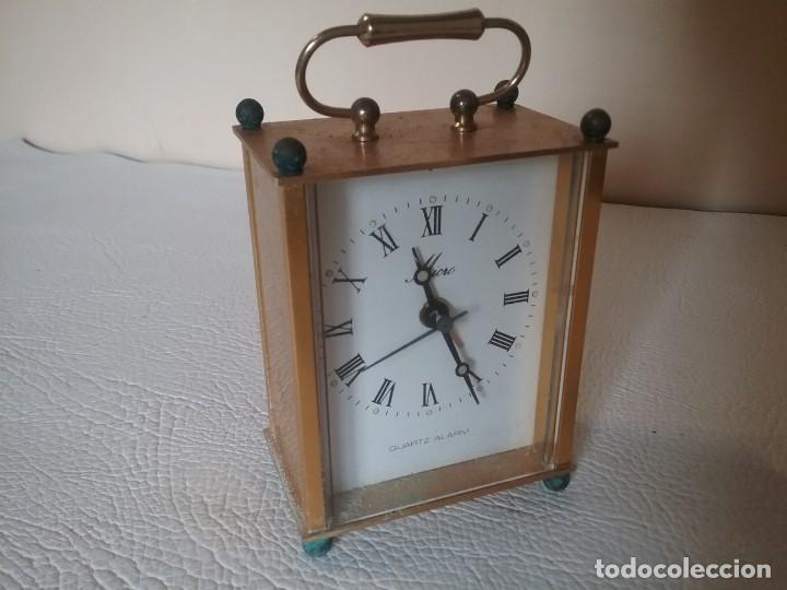 RELOJ DESPERTADOR. MICRO. NO FUNCIONA (Relojes - Relojes Despertadores)
