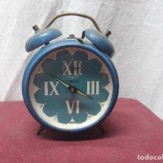Despertadores antiguos: RELOJ DESPERTADOR TENOR... . Lote 155740814