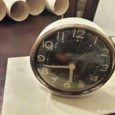 Despertadores antiguos: DESPERTADOR VINTAGE FUNCIONANDO. Lote 156477430
