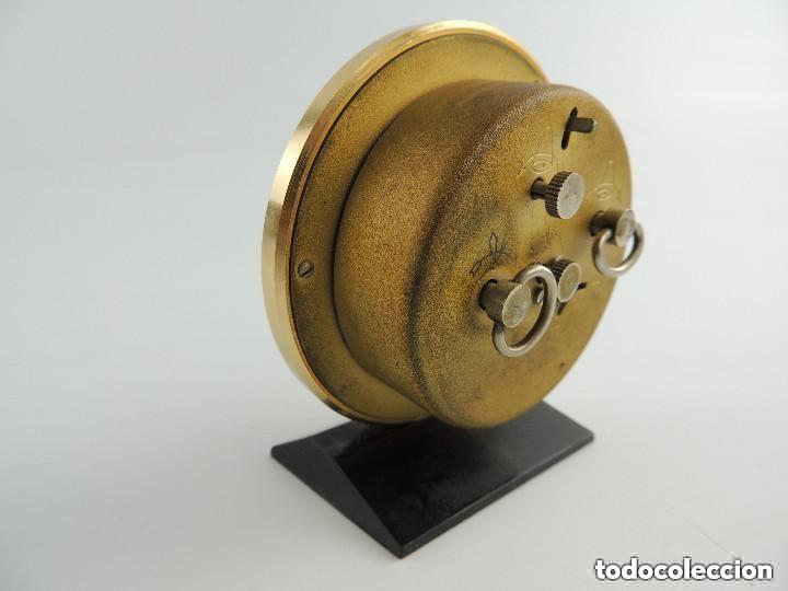 Despertadores antiguos: Antiguo Reloj Despertador a Cuerda Marca Slava Años 60-70 Era Comunista - Foto 6 - 156556810