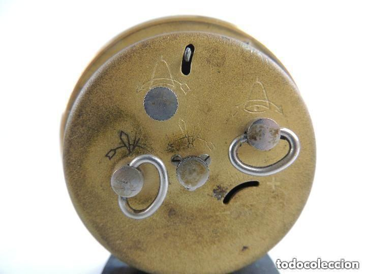Despertadores antiguos: Antiguo Reloj Despertador a Cuerda Marca Slava Años 60-70 Era Comunista - Foto 7 - 156556810