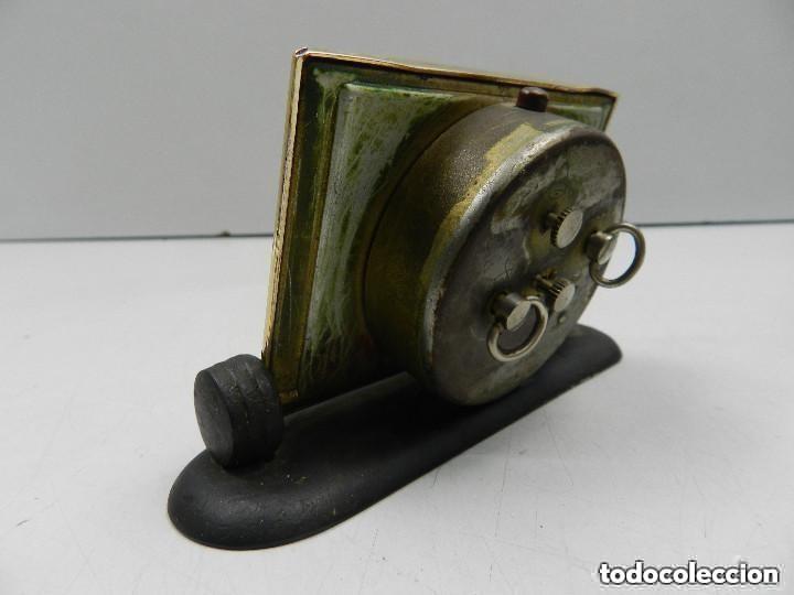 Despertadores antiguos: Antiguo Reloj Despertador a Cuerda Marca Slava Años 60-70- Vintage - Foto 4 - 156556958