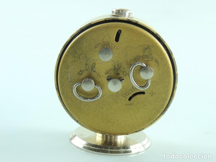 Despertadores antiguos: Antiguo Reloj Despertador a Cuerda Marca Slava Años 60-70 Era Comunista - Foto 4 - 156557114