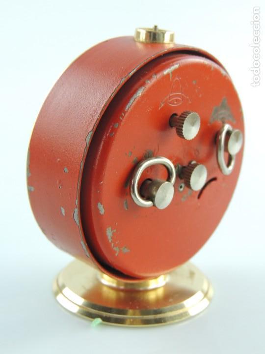 Despertadores antiguos: Antiguo Reloj Despertador a Cuerda Marca Slava Años 60-70 Era Comunista - Foto 6 - 156557146