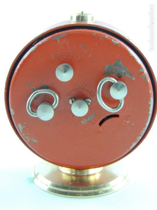 Despertadores antiguos: Antiguo Reloj Despertador a Cuerda Marca Slava Años 60-70 Era Comunista - Foto 7 - 156557146