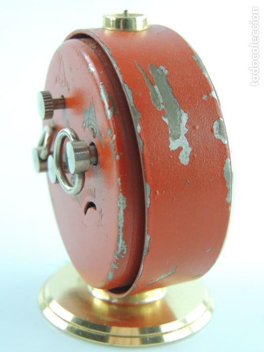 Despertadores antiguos: Antiguo Reloj Despertador a Cuerda Marca Slava Años 60-70 Era Comunista - Foto 8 - 156557146