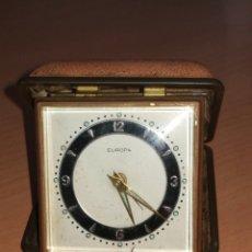 Despertadores antiguos: RELOJ DE VIAJE O MESILLA.. Lote 157319562
