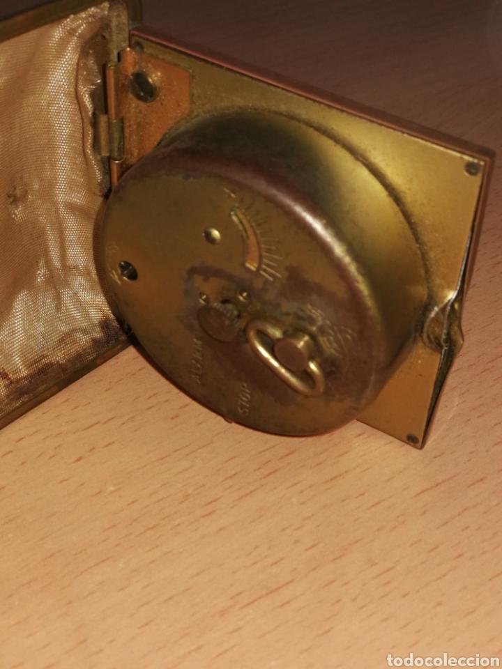 Despertadores antiguos: RELOJ DE VIAJE O MESILLA. - Foto 3 - 157319562