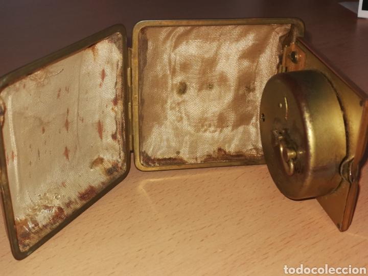 Despertadores antiguos: RELOJ DE VIAJE O MESILLA. - Foto 4 - 157319562