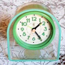 Despertadores antiguos: RELOJ KIBA, VINTAGE, NUEVO. Lote 157662106