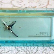 Despertadores antiguos: RELOJ ORIENT, VINTAGE, NUEVO. Lote 157662586