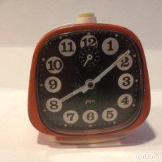 Despertadores antiguos: RELOJ DESPERTADOR JAPY - FABRICADO EN FRANCIA - FUNCIONANDO. Lote 157694802