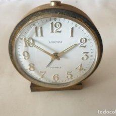 Despertadores antiguos: RELOJ DESPERTADOR EUROPA. Lote 158814814