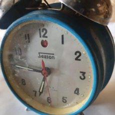Despertadores antiguos: RELOJ DESPERTADOR SEASON. Lote 158813854