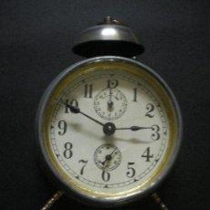 Despertadores antiguos: ANTIGUO RELOJ DESPERTADOR. Lote 159151674