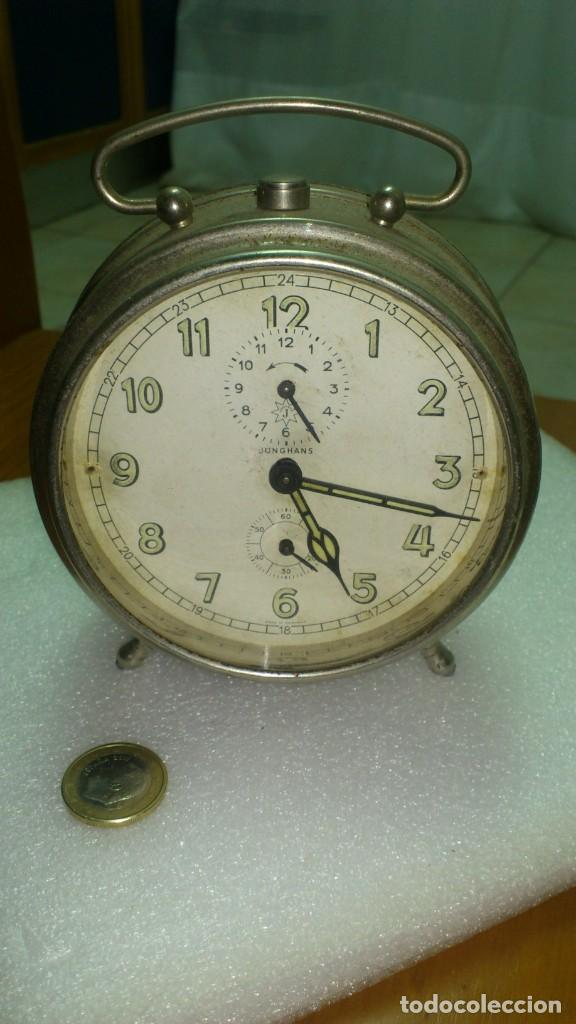 RELOJ DESPERTADOR SOBREMESA CUERDA MANUAL (Relojes - Relojes Despertadores)