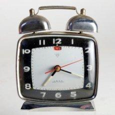 Despertadores antiguos: RELOJ DESPERTADOR CHINO. PARA REVISAR. Lote 159810762