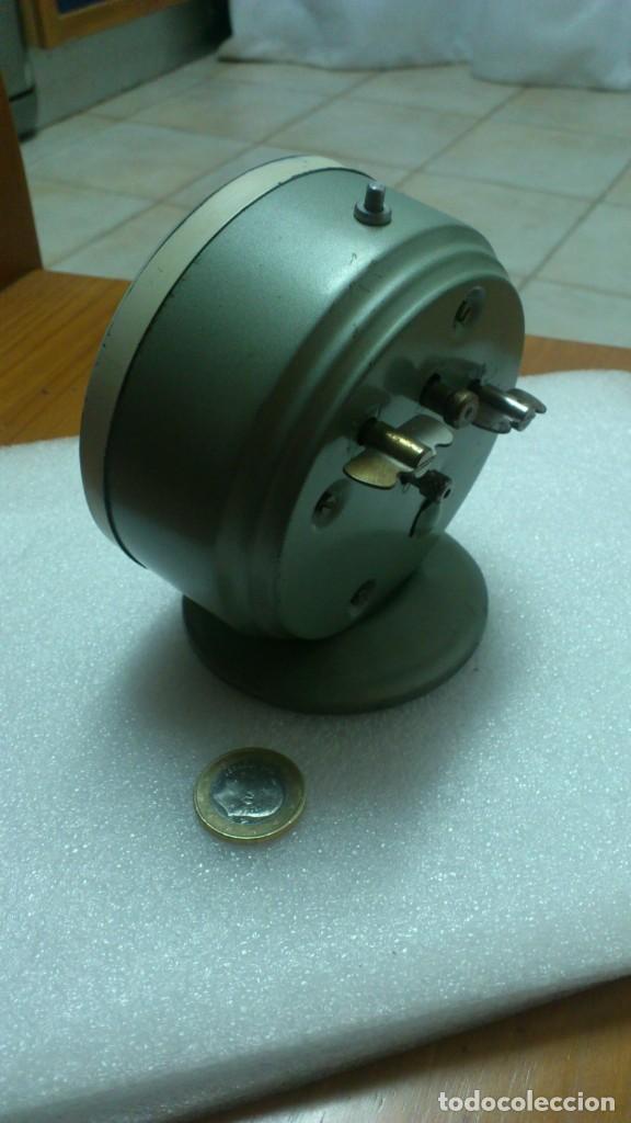 Despertadores antiguos: reloj despertador sobremesa cuerda manual - Foto 3 - 159817230