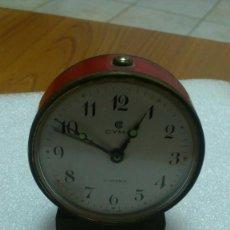 Despertadores antiguos: RELOJ DESPERTADOR SOBREMESA CUERDA MANUAL. Lote 159817354