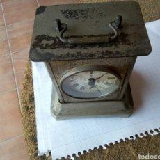 Despertadores antiguos: ANTIGUO RELOJ DESPERTADOR DE CAPILLA. Lote 159866962