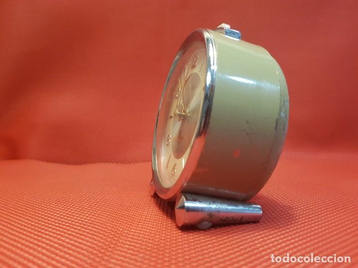 Despertadores antiguos: ANTIGUO DESPERTADOR MICRO 2 JEWELS - Foto 4 - 160678542