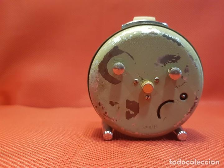 Despertadores antiguos: ANTIGUO DESPERTADOR MICRO 2 JEWELS - Foto 5 - 160678542