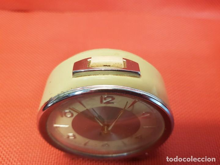 Despertadores antiguos: ANTIGUO DESPERTADOR MICRO 2 JEWELS - Foto 7 - 160678542