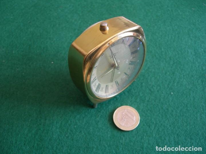 Despertadores antiguos: Reloj de sobremesa mesilla despertador - Foto 6 - 161438158