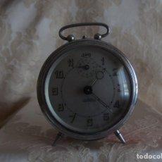 Despertadores antiguos: RELOJ DESPERTADOR OBAYARDO. Lote 161691430