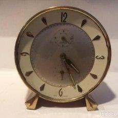 Despertadores antiguos: RELOJ DESPERTADOR WEHRLE - FUNCIONANDO - SIN CRISTAL. Lote 161739966