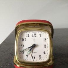 Despertadores antiguos: H GERMANY. RELOG SOBRE MESA. VINTAGE. ALARMA. Lote 162014340