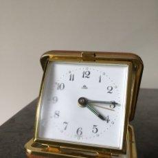 Despertadores antiguos: LUMEN GERMANY RELOG SOBREMESA VINTAGE CON ALARMA. Lote 162014541