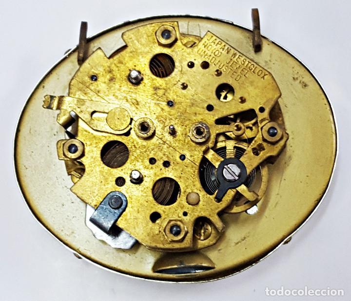 Despertadores antiguos: Reloj despertador a cuerda TRAVEL BEN. - Foto 7 - 162628794