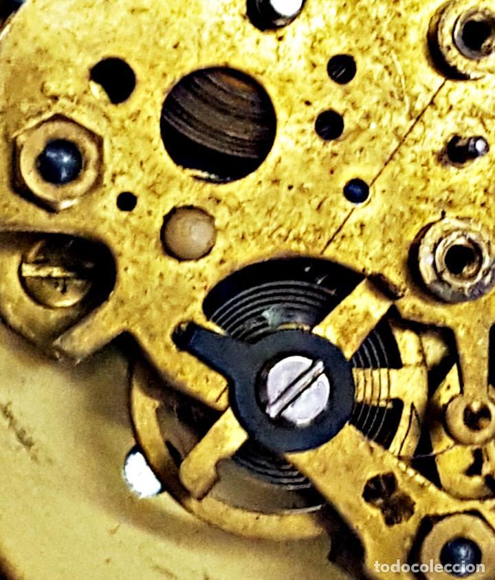 Despertadores antiguos: Reloj despertador a cuerda TRAVEL BEN. - Foto 10 - 162628794