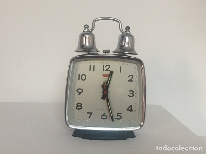Despertadores antiguos: Reloj despertador doble campana polaris - Foto 1 - 162897033
