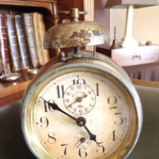Despertadores antiguos: RELOJ DESPERTADOR ANTIGUO. Lote 163457986