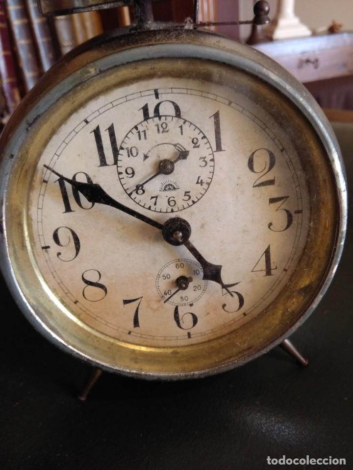 Despertadores antiguos: Reloj despertador antiguo - Foto 8 - 163457986