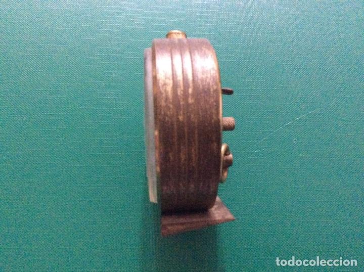 Despertadores antiguos: Reloj despertador Duward de Luxe. Años 60. Para piezas - Foto 2 - 164323900