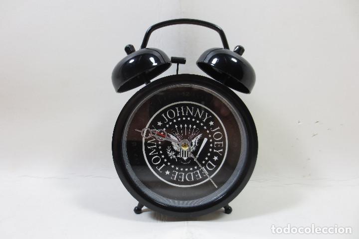 DESPERTADOR RAMONES (Relojes - Relojes Despertadores)