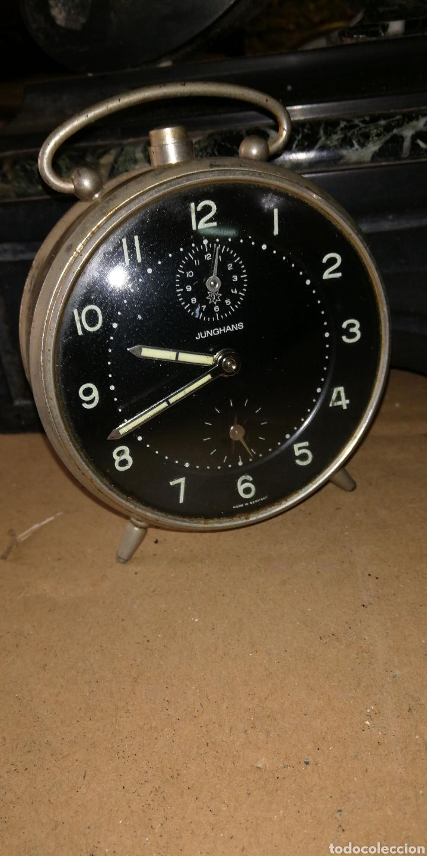 ANTIGUO RELOJ DESPERTADOR DE CUERDA (Relojes - Relojes Despertadores)