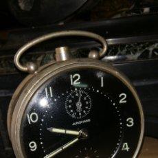 Despertadores antiguos: ANTIGUO RELOJ DESPERTADOR DE CUERDA. Lote 174414260